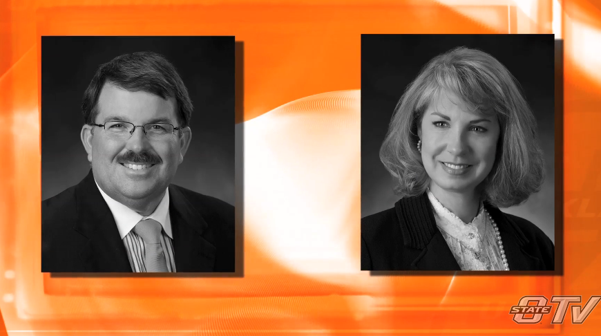 Malone & Amy Mitchell Inducted into Oklahoma State University Hall of Fame
